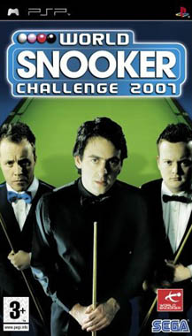 SEGA World Snooker Challenge 2007 PSP