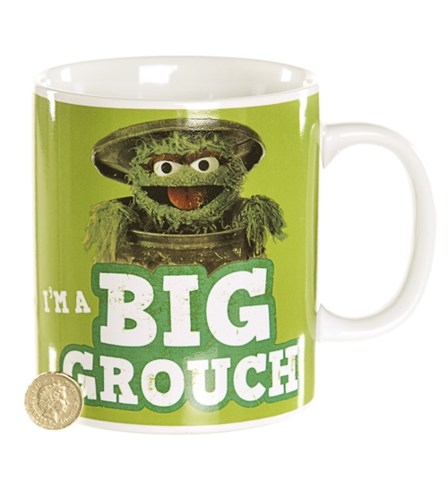 Oscar The Grouch Giant Mug