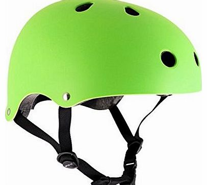 Essentials Childs Helmet - Matt Fluo Green