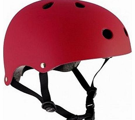 Essentials Helmet Matte Red Small/Medium