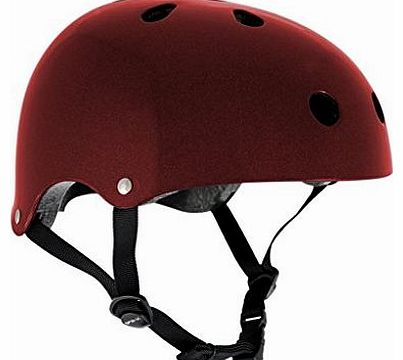 Skate/Scooter/BMX Helmet - Metallic Red S-M (53cm-56cm)