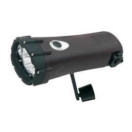 Shark Waterproof Wind up Torch and Mobile Charger