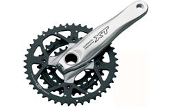 XT M760 9 speed Hollowtech II Chainset (OE)