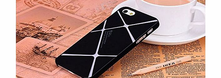 SIFANG CASE Simple Contract Grind Arenaceous Ultra-thin Plastic Shell Case Cover For Iphone 5 5S-03