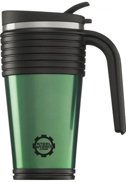 STEEL WORKS THERMO CUP GREEN