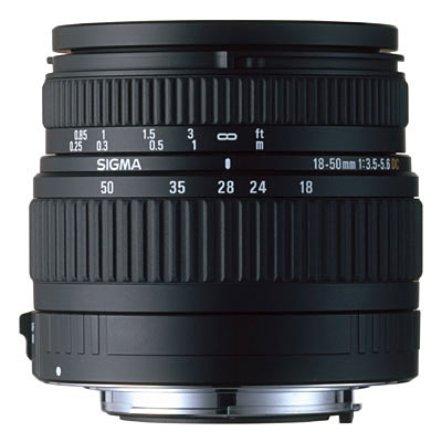 18-50mm f3.5-5.6 DC Lens - Canon Fit
