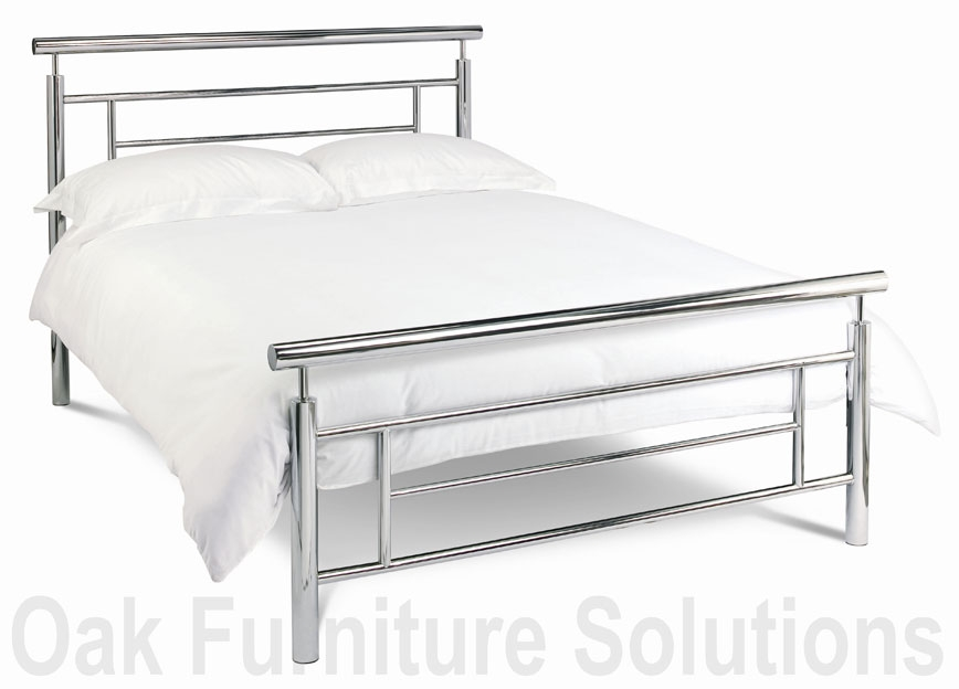 Nickel Bedstead - 135cm - Double and 150cm