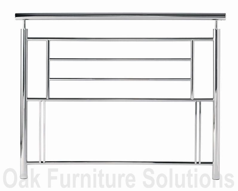 Nickel Headboard - 135cm - Double and