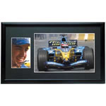 Fernando Alonso Framed Photographic Set