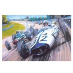 Grand Prix The Movie print Signed by