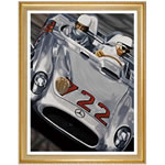 Legends Of Mille Miglia Print