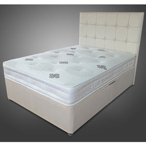 Silent-Dreams Twilight 4FT Small Double Divan Bed