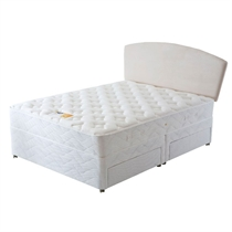 Brittany King 2 Drawer Divan Bed