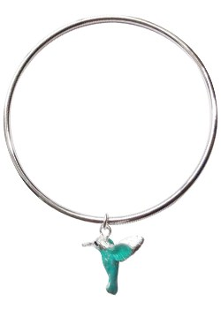 and Turquoise Humming Bird Bangle by