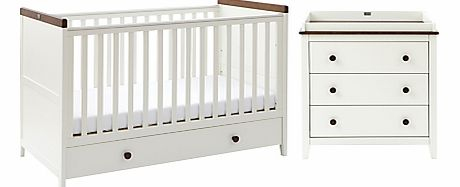 Porterhouse Cotbed and Dresser Set,