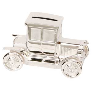 Plated Old Fashion Car Money Box
