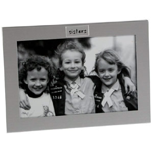 silver Sisters Photo Frame