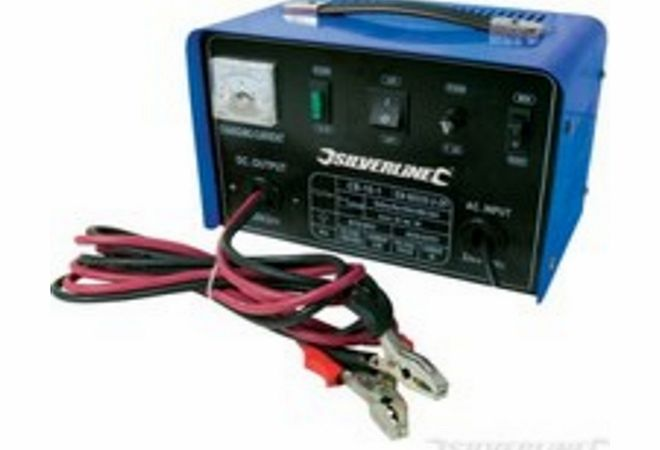 Silverline Tools Battery Charger