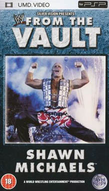 Silvervision WWE Shawn Michaels From The Vault UMD Movie PSP