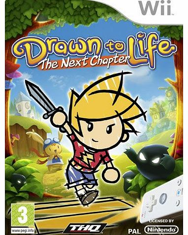 Drawn To Life: The Next Chapter on Nintendo Wii