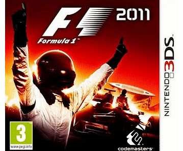 Formula 1 2011 3D (F1) on Nintendo 3DS
