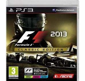 Formula 1 2013 Classic Edition on PS3