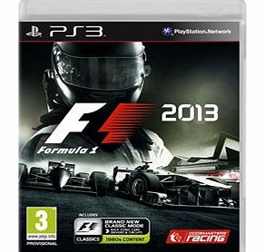 Formula 1 2013 Standard Edition on PS3