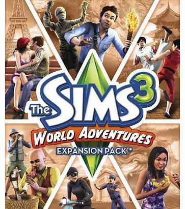 The Sims 3 World Adventures Expansion Pack on PC