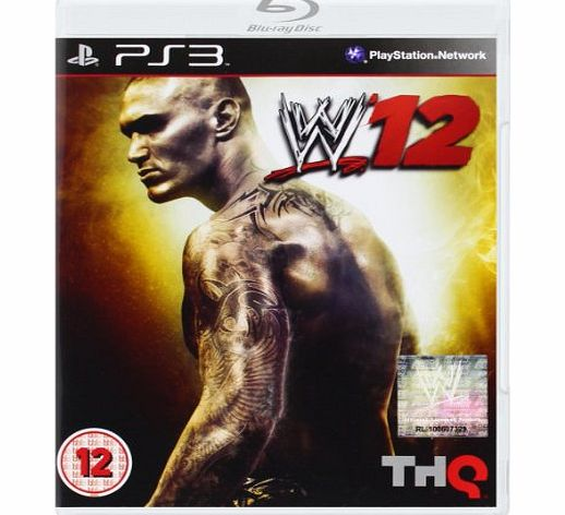 WWE 12 on PS3