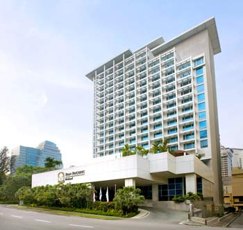 Orchard hotel singapore - Pan pacific orchard swimming pool ...