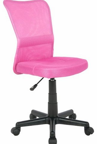 SixBros. Office SixBros H-298F/1412 Office Swivel Chair Pink