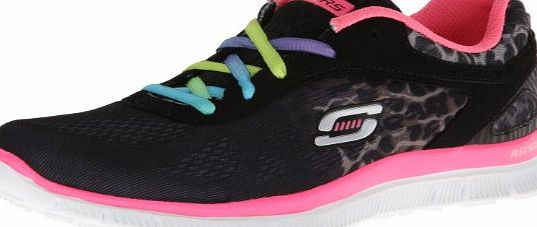 Skech Appeal - Serengeti, Girls Running Shoes, Black (Bknp), UK Child 11.5 Child UK (29 EU)