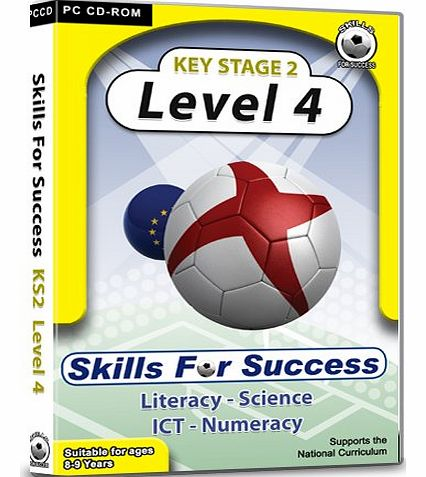 Skills For Success  Key Stage 2 Level 4: Complete Pack - Fun educational software!
