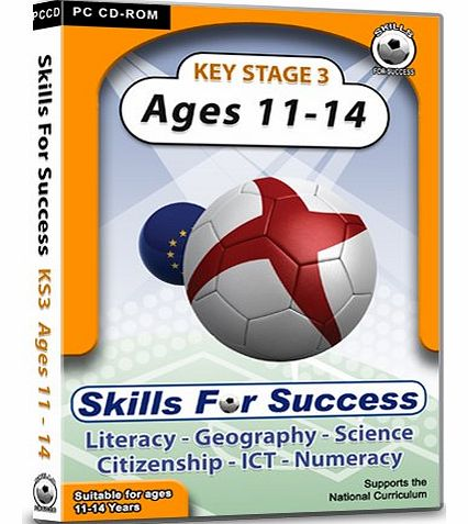 Skills For Success  Key Stage 3 Ages 11 - 14: Complete Pack - Fun educational software!