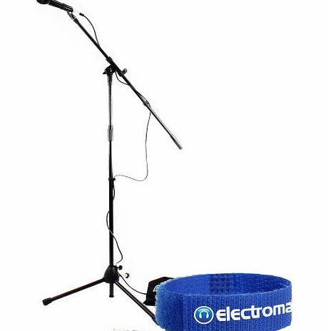 Skytec Professional Complete Karaoke Microphone Stand Kit System   Carry Bag