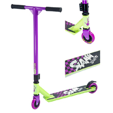 Rage Scooter Purple/Green