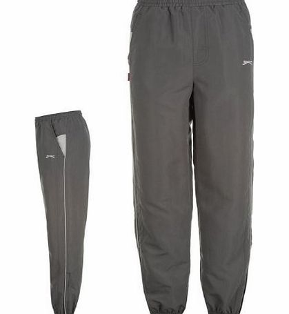 Slazenger Mens OH Tracksuit Bottoms Mens Charcoal Small
