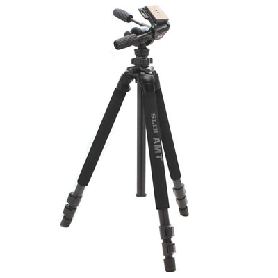 Pro 780DX aluminium tripod with 3 way heavy