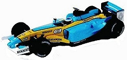 Modelxtric Renault 2003 race car - J.Trulli Ltd Ed 7-000pcs