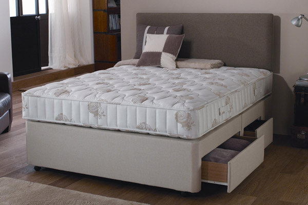 Heavenly Comfort Orthopaedic Single Divan Bed Bed Mattress Sale