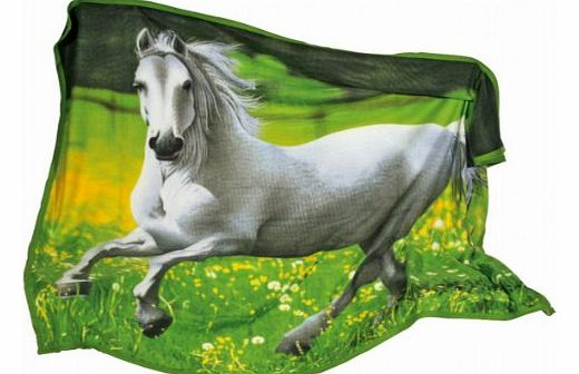 Company 8070 Fleece Cover with Horse Motif