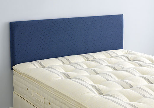 Single Newark Headboard - Blue - Blue Z Fabric