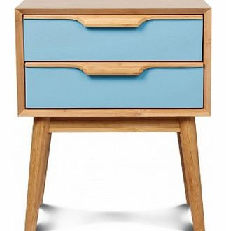 Lagan bedside table Blue `One size