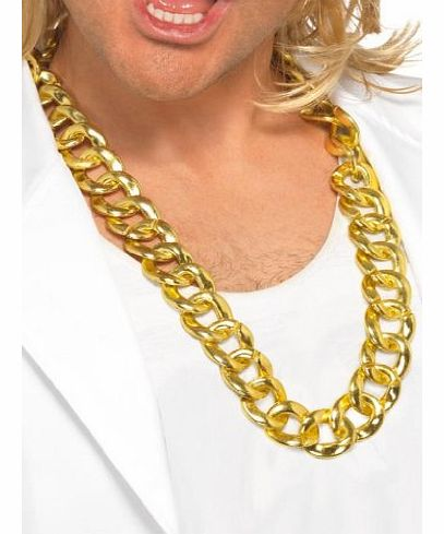 Big Chunky Necklace Chain (Gold)