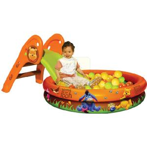 Smoby Winnie The Pooh Slide and Pool