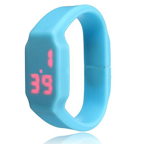 Led watch blue