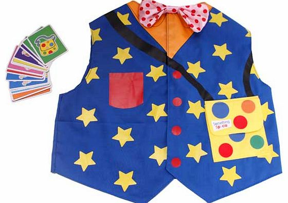 Mr Tumbles Waistcoat including Pairs Game