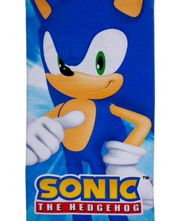Sonic the Hedgehog Sonic Spin Towel