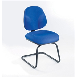 sonix Cant Visitors Chair Sapphire