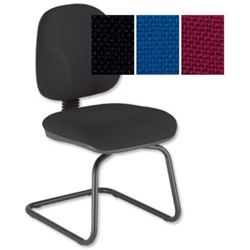 Sonix Choices Cantilever Visitors Chair Black